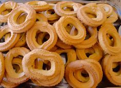 Biscoitos de Milho com Canela