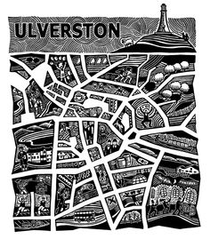 Gallery of Artist, print maker and Designer, Hugh Ribbans. Linocut and Woodcut prints for sale. Woodcut Art, Linocut Prints, Prints For Sale, Art For Sale, Cartography, Printmaking, Map, Beer Labels, Artists