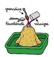 Le volcan à la grenadine | Espace des sciences