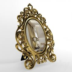models: Mirror - The oval mirror in Art Nouveau style 3d Mirror, Oval Mirror, Art Nouveau, Beautiful Mirrors, 3d Models, Art Decor, Home Decor, Style, Modern