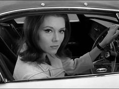 Diana Rigg, and her 1967 Lotus Elân Series 3