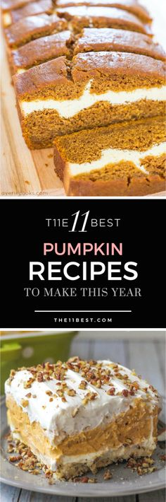 The 11 Best Pumpkin Recipes to make this year