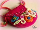 Inšpirácie na pletenie a háčkovanie Delena, Sweet Cakes, Coin Purse, Pouch, Purses, Christmas Ornaments, Crochet, Blog, Diy Bags