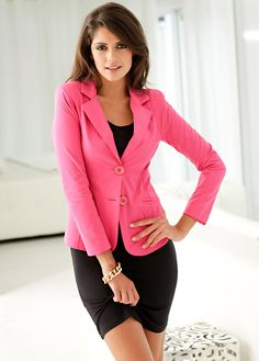 #pink #blazer #bonprix