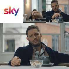 These commercials are great, but HOW DARE SOMEONE TAKE TOM HARDY'S SUGAR!!!
