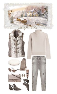 """""""Sleigh Ride"""" by musicfriend1 on Polyvore featuring Vanessa Seward, TravelSmith, Vince Camuto, New Directions, UGG, Balenciaga, Chloé, Melissa Joy Manning and Aesop"""