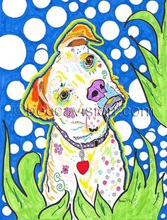 Beccavision | CUSTOM DOG ART