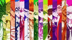 Hagakure; Hina; Mondo; Byakuya Togami; kyoko kirigiri; Ishimaru; Leon; Makoto Naegi; Sayaka; Chihiro; Celestia Ludenburg; Taka; Hifumi; Sakura; Jonko #DANGANRONPA