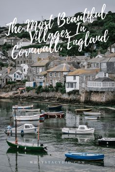 When it comes to Cornwall, it's unspoilt villages are where this English county really shines. Here is a guide to the most beautiful villages in Cornwall, which hopefully you will be adding to your list to explore! Backpacking Europe, Europe Travel Guide, Travel Guides, Travelling Europe, Traveling, Europe Destinations, Holiday Destinations, Cool Places To Visit, Places To Go