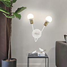 Purchase this wall lamp from Homelava.com at low price to decor your room, will make your room look simple and stylish. Contemporary Wall Lights, Modern Wall Lights, Fitted Bedrooms, Made To Measure Curtains, Iron Wall, Sconce Lighting, Kugel, Sconces, Stylish