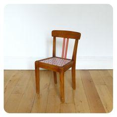 Chaise enfant vintage -