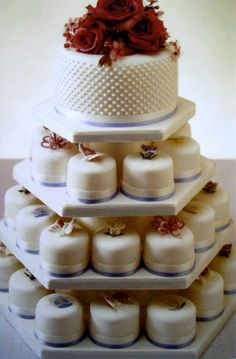 Different colors, but I like the cupcake concept included in the Wedding Cake