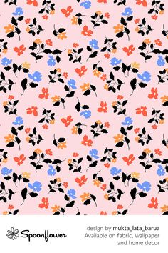Customize your own home decor, #wallpaper and #fabric at Spoonflower. Shop your favorite indie designs on #fabric, #wallpaper and home decor products on Spoonflower, all printed with #eco-friendly inks and handmade in the United States. #patterndesign #textildesign #pattern #digitalprinting #homedecor #floral #florals #pink #summer #ditsy Diy Wedding, Wedding Day, Pink Summer, Fabric Wallpaper, Ditsy, Floral Designs, Watercolor Flowers, All Print, Custom Fabric
