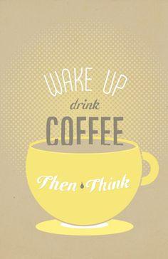 Coffee...always :)