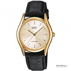 Casio Men's Analogue Quartz Watch with Leather Strap Casio G Shock Watches, Gents Watches, Casual Watches, Casio Watch, Mens Dress Watches, Watches For Men, Seiko, Casio Quartz, Casio Classic