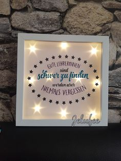 Decorative objects – light frame teacher, teacher, gift, farewell, – a unique product by Jelufee on DaWanda Source by Teacher Appreciation Gifts, Teacher Gifts, Christmas Crafts For Kids, Christmas Diy, Goodbye Gifts, Life Is Too Short Quotes, Farewell Gifts, Diy Crafts To Do, Watercolor Cards