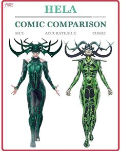"3,281 Likes, 31 Comments - • Accurate.MCU • mcu fanpage (@accurate.mcu) on Instagram: ""• HELA - COMIC COMPARISON • Hela looks perfect. I don't think she could look any better or comic…"""
