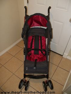 Thrifty Nifty Mommy: Strolling into Spring with the First Years Ignite Stroller