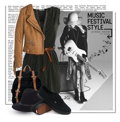 """""""I Love Music Festival Style"""" by fashion-architect-style ❤ liked on Polyvore featuring H&M, Gio-Goi, Barbara Bui, ASOS, rag & bone and Vans"""