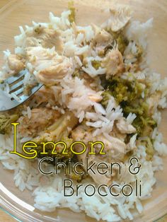 BunGirl Cooks: Lemon Chicken and Broccoli