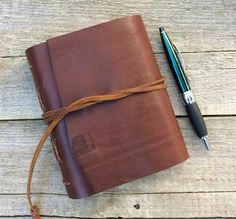 """Leather journal, William Shakespeare, """"I love nothing in the world so well as you"""", rustic journal by moon and hare by MoonAndHare on Etsy"""