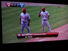 lmao 'some minor league guy'