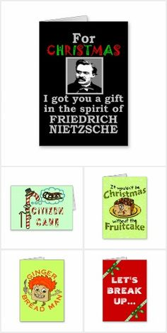 Funny Christmas Greeting Cards : the perfect collection of cards to send to all your humor-loving friends -- see more here http://www.zazzle.com/hahaholidays*/