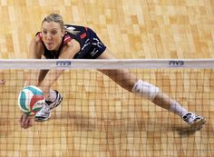Jordan Larson-Burbach of the U.S. women's volleyball team. (Nati Harnik / Associated Press)