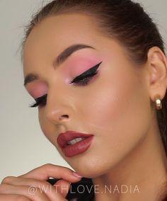 makeup Makeup For Girls 2019 Augen Make-up für Mädchen 2019 Bride Makeup, Girls Makeup, Wedding Makeup, Perfect Makeup, Love Makeup, Makeup Looks, Eyeshadow Looks, Makeup Eyeshadow, Barbie Make-up