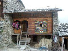 Typical Tamang House of Rasuwa