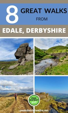 Beautiful Places To Visit, Cool Places To Visit, Places To Travel, Amazing Places, Peak District England, Pembrokeshire Coast, Walking Routes, Adventure Activities, Best Hikes