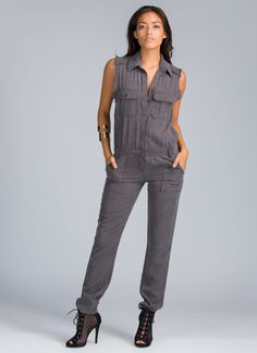 In coveralls you're ready for work, but in this coverall jumpsuit you better be ready to werq.
