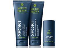 #Moltonbrown #sport #collection #geldouche #deodorant #baume #soins #homme
