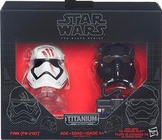 Star Wars - Finn & Tie Pilot - OK Titanium - Titanium Helmets
