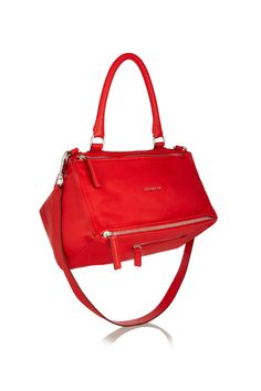 Givenchy | Medium Pandora Box bag in red leather