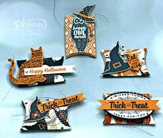 Hello there stampers! Tonight I have a quick post- Due to an overwhelming number of emails in regards to the Halloween Mini Pillow Box Fav...