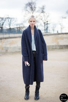 Sasha Luss Street Style Street Fashion by STYLEDUMONDE Street Style Fashion Blog