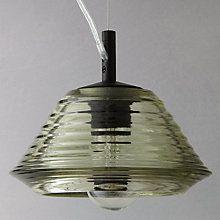 Buy Tom Dixon Pressed Glass Bowl Pendant Light Online at johnlewis.com
