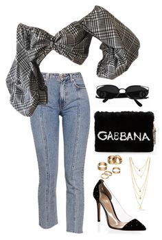 Sem título #765 by owl00 on Polyvore featuring polyvore moda style Gianvito Rossi Dolce&Gabbana Apt. 9 fashion clothing