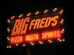 Big Fred's Pizza in Omaha, Nebraska