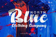 NORTH BLUE - STRONG BOLD SCRIPT FONT - A stylish and quirky new bold script. North Blue font was created to look as close to a readable script as possible by including over a lot ligatures, titling, and swash. Bold Script Font, Script Logo, Handwritten Fonts, Great Fonts, All Fonts, Awesome Fonts, North Clothing, Brush Font, Illustrations