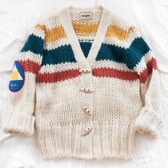 bobo choses knitted cardigan