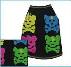 Dog Clothes Punk Dog Tee Shirt XXS- XL 1- 35 LBS shirt #RuffLuv