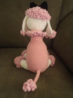 French Projects | French Poodles by lizrev | Crocheting Ideas