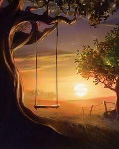 Sunset Swing                                                       …