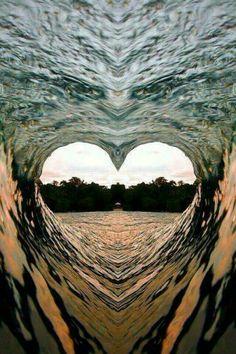 Interior del corazón