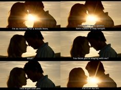 engagement couples  photography, sunset sunrise light  shines between lips kissing leap year pelicula  Playing with Perspectives- Buscar con Google