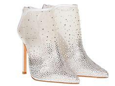 Stuart Weitzman Cinderella inspired glass slippers