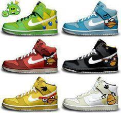 Angry bird Nikes