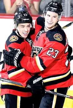 Johnny and Mony Hockey Teams, Hockey Players, Johnny Gaudreau, Calgary, Nhl, Sports, Canada, Boys, Awesome